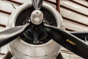 Closeup of a Plane Propeller